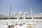 The impressive Sheikh Zayed Grand Mosque. Photo / Thinkstock