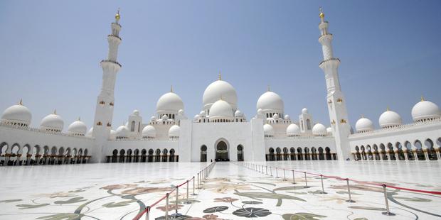 The impressive Sheikh Zayed Grand Mosque. Photo / Thinkstock