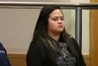 Murder accused Shaylene Wharerau.