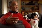 Te Ururoa Flavell, co-leader of the Maori Party, still lives in the house where he grew up in Ngongotaha. Te reo is important in the Flavell family - even the dog Mokai responds to commands in Maori. Photo / Alan Gibson