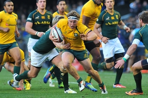 New skipper Michael Hooper exudes vibrancy for the Wallabies. Photo / Getty Images