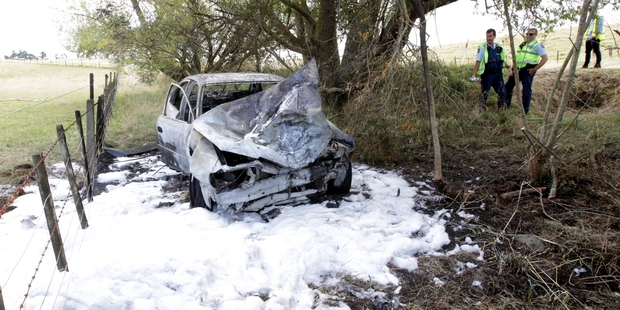 A driver has been sentenced after this crash that claimed the life of an unborn baby in Waipukurau. Photo / File