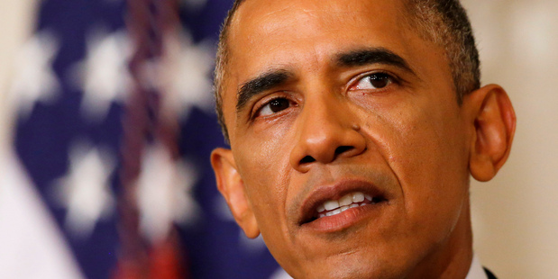 US President Barack Obama speaks about the situation in Iraq. Photo / AP