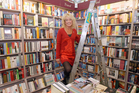 Bookseller Jo McColl says people are broadening their book-buying. Photo / Glenn Jeffrey