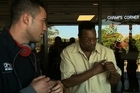 Joseph Parker meets Larry Holmes, a 64-year-old former heavyweight champion of the world. He was the heavyweight champion of the world from 1978-85, fought professionally 75 times, lost six, which he disputes to this day, and was knocked out only once - by Mike Tyson in 1988.