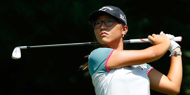 New Zealand's Lydia Ko in action during the second round of the LPGA Classic in Michigan. Photo / Getty Images