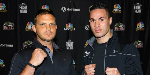 Loading Keith Thompson has promised to provide New Zealand heavyweight Joseph Parker with a stern test when they fight on Sunday. Photo Larry Levanti/Main Events