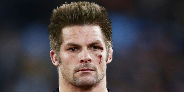 Richie McCaw of the Crusaders after the Super Rugby Grand Final match against the Waratahs. Photo / Getty Images
