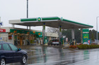 The most targeted petrol stations for car thieves. BP Waihi Road. Photo/George Novak