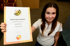 Olivia Donaldson received the highest marks in Australasia in the Asia Wise Challenge. Photo / George Novak