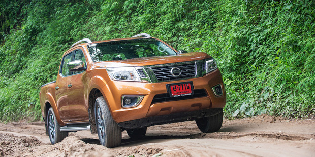 The new Nissan Navara is being built in Thailand.  Photos / Supplied