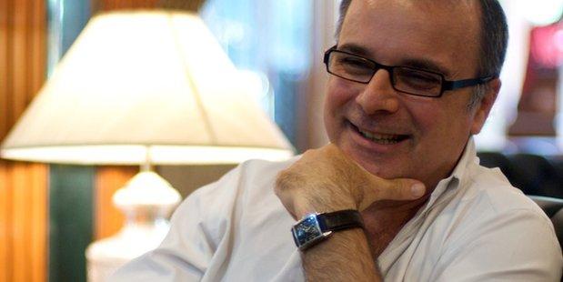 Author Richard C Morais.