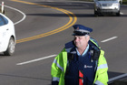 Sergeant Wayne Hunter talks about driving behaviour on the Kaimai Range road. Photo/John Borren