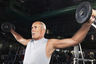 The gym has become the new temple for the modern over-40s man. Photo / Getty Images