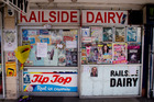 The Railside Dairy in Henderson where dairy owner Arun Kumar was stabbed to death. Photo / Dean Purcell