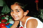 Jasnoor Kaur, 8, who was killed in a head-on smash on the Kaimais on May 29.