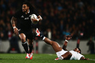 Ma'a Nonu has shown he has the ability to withstand Sonny Bill Williams' challenge for the No12 jersey and will be keen to build on a good season with the Blues. Photo / Getty Images