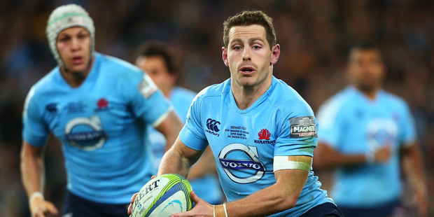 Bernard Foley of the Waratahs. Photo / Getty Images