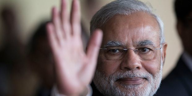 India's Prime Minister Narendra Modi has blocked part of the biggest trade deal in the World Trade Organization's history. Photo / AP