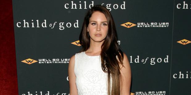 Recording artist Lana Del Rey. Photo / AP