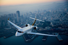 A Gulfstream jet costs about $11,470 an hour to hire and can carry up to 14 passengers.