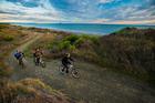 Bikers on the Motu trails are treated to beautiful Bay of Plenty views. Photo / APN