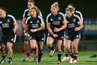 Cohesion was at times lacking in the Black Ferns first match since June. Photo / APN