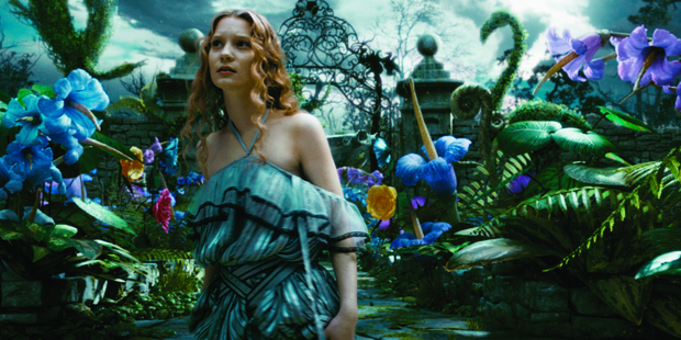 Mia Wasikowska will return as Alice in Alice in Wonderland: Through the Looking Glass. Photo / Walt Disney Pictures