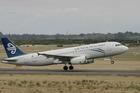 An Air New Zealand Airbus A320. Photo / NZ Herald