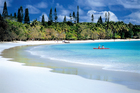 The tropical paradise of New Caledonia is only a two and a half-hour flight from New Zealand.
