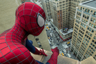 Andrew Garfield stars as Spider-Man in 'The Amazing Spider-Man 2'.
