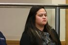 Murder accused Shaylene Wharaerau in the High Court at Whangarei. Photo / Northern Advocate