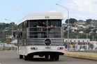 Napier's Art Deco buses have been sold.