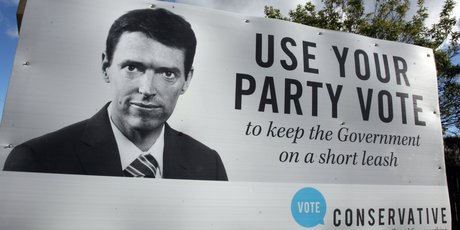 The Conservative Party's leader Colin Craig. Photo/file