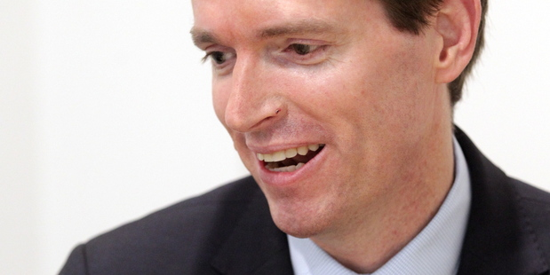 Colin Craig is a pretty compelling performer. Photo / Paul Taylor