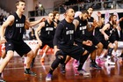 The New Zealand Tall Blacks basketball team. Photo / Getty Images