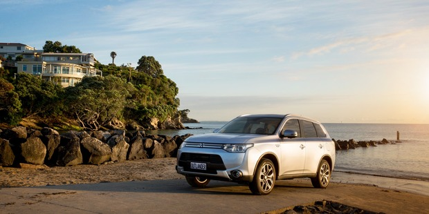 James Russell reviews the Mitsubishi Outlander Plug-In Electric Hybrid. Photo / Supplied