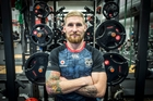 Warriors league import Sam Tomkins says he is not homesick but he is definitely a homebody.  Photo / Michael Craig