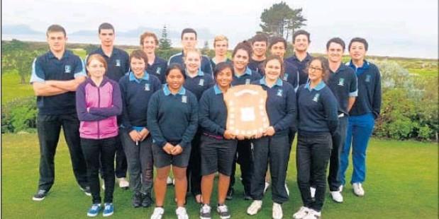 Northland's successful junior golf team. Photo / Supplied