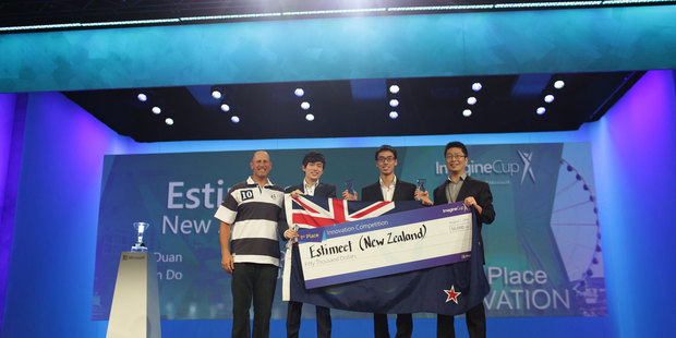 University of Auckland Team Estimeet at the Imagine Cup in Seattle.