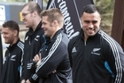 Eat Streat was packed as Rotorua's rugby fans got the chance to meet All Blacks including captain Richie McCaw and local hero Liam Messam.