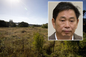 Donghua Liu has been charged over two of his properties, as he pushes on with plans to build his long-promised housing project in Alpers Ave, Newmarket (pictured). Photo / NZ Herald