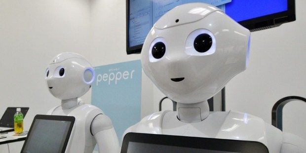 Robots will be doing many of the jobs people now do by the year 2025. Photo / AFP