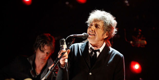 Bob Dylan performing in 2012. File photo / Getty Images