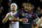 Ngani Laumape will start at centre tomorrow. Photo / Richard Robinson