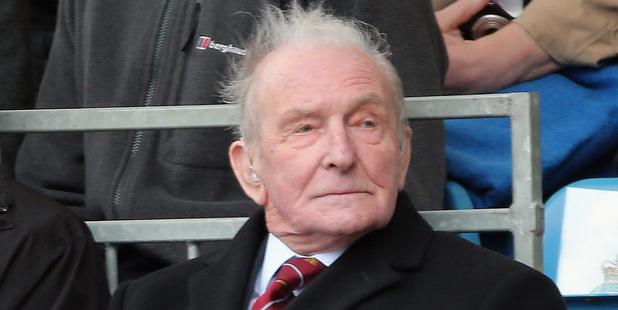 Dambuster veteran George 'Johnny' Johnson. Photo / Getty Images