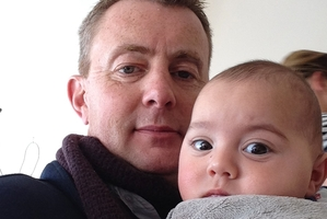 "Mark Longley has described his young son Hunter as ""a ray of sunshine""."