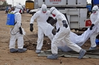 People travelling from infected areas of Liberia have started a mini Ebola epidemic in the capital Monrovia. Picture / AP