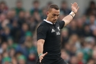 Aaron Cruden's kicking skills will be put to the test in Sydney. Photo / Getty Images