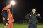 Kieran Keane during his Magpies coaching days. Photo / File